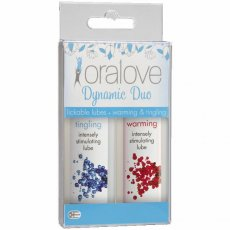 ORALOVE 2 PACK LUBE WARMING & TINGLING
