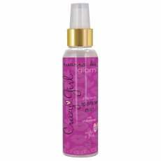 CRAZY GIRL WANNA BE GLAM GLITZY BODY SPARKLE MIST SILVER 4 OZ