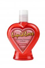 LIQUID LOVE WARMING MASSAGE LOTION STRAWBERRY