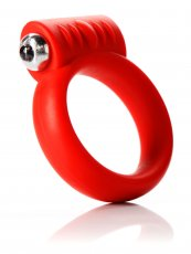 (D) COCKRING VIBRATING 2IN RED