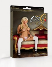 CROTCHLESS G STRING PINK O/S(O.M.G-STRINGS)