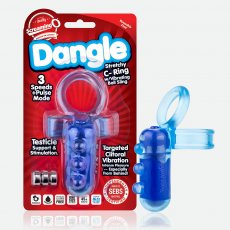 DANGLE C RING BLUE (EACHES)