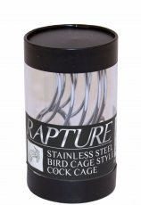 MALE STAINLESS STEEL BIRD CAGE