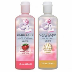 CANDILAND GLIDE 2 PACK STRAWBERRY /WHIPPED CREAM
