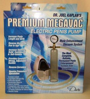 Dr. Joel Kaplan Penis Electric Penis Pump Medium