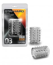 STAY HARD COCK SLEEVE 03 CLEAR