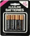 ASSORTED AA BATTERIES 4 PACK