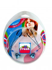 FRESH NIPPLE CLAMPS TWEEZER W/BEADS BLUE
