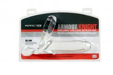 ARMOUR KNIGHT STRAP ON S/M CLEAR