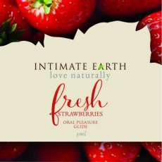 INTIMATE EARTH STRAWBERRY FOIL PACK (EACHES)