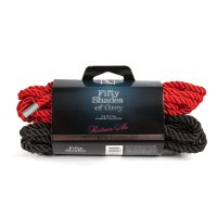 FIFTY SHADES BONDAGE ROPE TWIN PACK(NET)