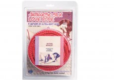 JAPANESE SILK LOVE ROPE 5M (16 FT) RED