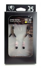 LITE LINE CLAMP W/PINK BEADS