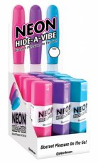 NEON HIDE A VIBE 12PC DISPLAY