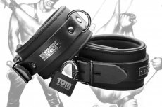 TOM OF FINLAND NEOPRENE ANKLE CUFFS W/LOCKS