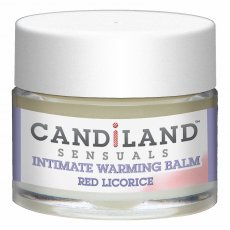 CANDILAND WARMING BALM RED LICORICE .25 OZ (CD)
