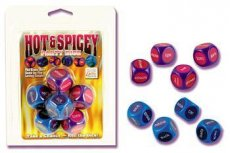 HOT & SPICEY PARTY DICE