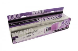 WAND ESSENTIALS 8 SPEED 8 FUNCTION WAND PURPLE