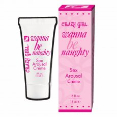 CRAZY GIRL SEX AROUSAL CREME .5 OZ