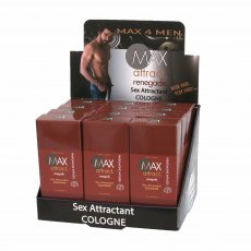 MAX ATTRACT RENEGADE COLOGNE DISPLAY