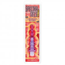 SPECTRA GEL BEADED ANAL VIBE W/PROOF CD