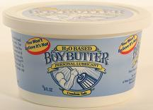 BOY BUTTER H2O 8 OZ CONTAINER (out end July)