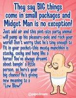 (D) MIDGET MAN INFLATABLE LOVE DOLL