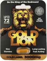 (D) GOLD LION PILLS (EACHES) (