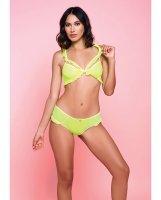 Ballet Bra & Panty Neon Yellow LG
