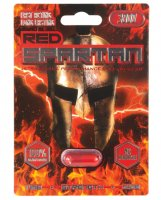 (D) RED SPARTAN 3000 1PC (NET)