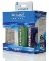 Fleshlight Quickshot Vantage Value Pack - Clear