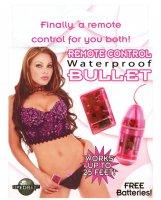 Remote Control Bullet Waterproof - Pink