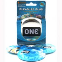 (D) ONE PLEASURE PLUS 3PK