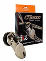 CHASTITY 3 1/4IN CHROME COCK CAGE