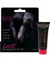 Lust Arousing Cream for Her - .5 oz Tube