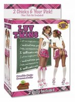 (D) LUV TWINS DOUBLE DATE DREA DOLLS