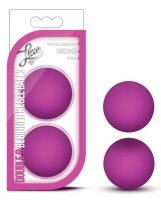 Blush Luxe Double O Beginner Kegel Balls - Pink