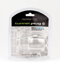 PERFECT FIT TOY TUNNEL PLUG LG ICE CLEAR(out Aug)
