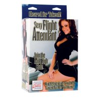 (D) SEXY FLIGHT ATTENDANT DOLL