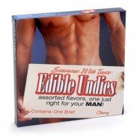 (D) EDIBLE UNDIES MALE-STRW/CH