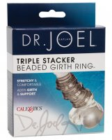 Dr Joel Kaplan Beaded Girth Ring Triple Stacker