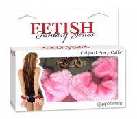 (D) FETISH FANTASY ORIGINAL FU HANDCUFFS-PINK