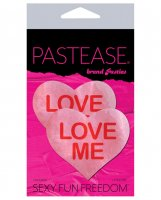 Pastease Love Me Heart - Pink/Red O/S