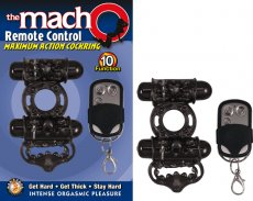 MACHO REMOTE CONTROL COCKRING BLACK