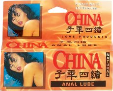 CHINA ANAL LUBE NATURAL