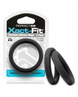 Perfect Fit Xact Fit #19 - Black Pack of 2