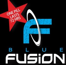 BLUE FUSION FOR MEN 1PC CARD (NET)