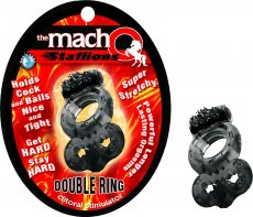 MACHO STALLIONS DOUBLE RING