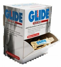 ANAL GLIDE EXTRA 50 PC DISPLAY