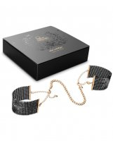 Bijoux Indiscrets Desir Metallique Handcuffs - Black